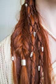 celtic warrior hair braids haare und zöpfe wedding hair red winter queen pinterest