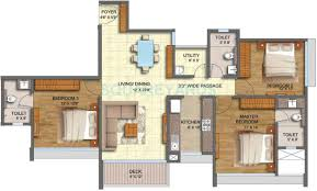 2 bhk 1200 sq ft apartment for sale in runwal forests at rs
