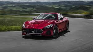 red maserati convertible 2018 maserati granturismo luxury sports car maserati usa
