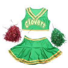 cheerleading uniforms halloween bring it on style cheerleader group costume ladies mens