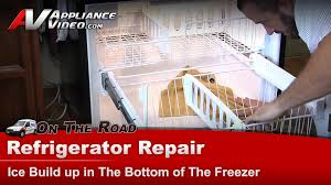 Kitchenaid P by Refrigerator Repair Ice Build Up In The Freezer Whirlpool