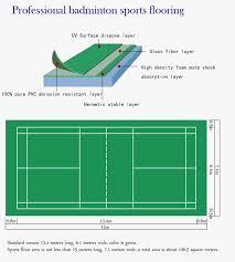 high quality badminton court plastic flooring vinyl flooring