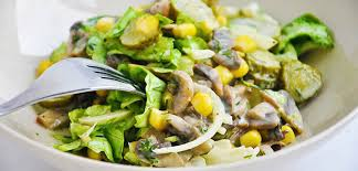 best salad recipes best mushroom salad recipe you will ever make