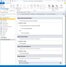 sharepoint designer create a project server workflow for demand management