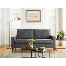 best choice products modern leather futon sofa bed fold up u0026 down