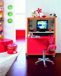 Kid Computer Desk Room White Desks Space For 18 Creative And Modern