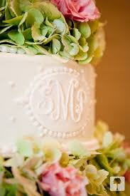 cake monograms just a bit of pattern detail on the cake your new married