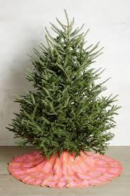 Blue Velvet Tree Skirt Anthropologie U0027s Christmas Arrivals Decorations Topista