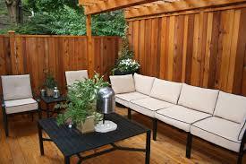 Modern Back Yard Garden Wooden Modern Backyard Ideas Featuring Wooden Wall