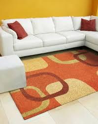 Orange Modern Rugs Designer Modern Rugs Roselawnlutheran