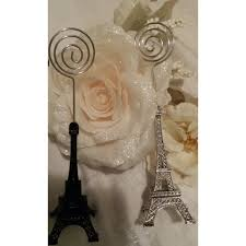 eiffel tower table decorations eiffel tower silver wedding eiffel table number holder silver