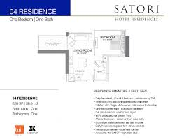 Midtown Residences Floor Plan by Satori Miami