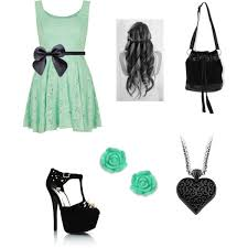 polyvore casual mint green casual dress polyvore
