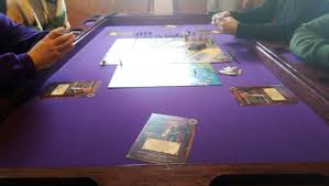 neoprene game table cover purple and black cherry board game table boardgamegeek boardgamegeek