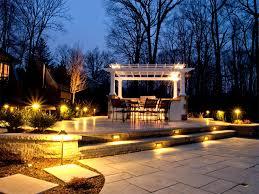 gzebo outdoor patio lights idea to create outdoor