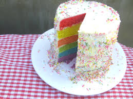 Cakes To Order Rainbow Cake Kerry Cooks