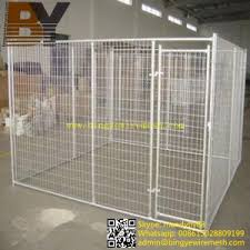 china welded large dog cage backyard dog kennels china dog