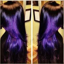 black hairstyles purple black purple hairstyles a gorgeous combination the haircut web