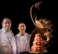 wedding cake qatar sheraton grand doha unveiled a patisserie masterpiece marks the