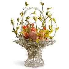 flower arrangements national tree co easter basket flower arrangements with egg
