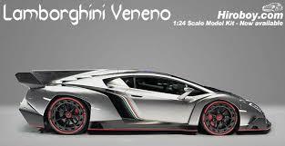 model lamborghini veneno 1 24 lamborghini veneno model kit c w engine detail fuj 125831