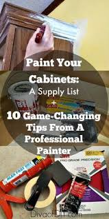 Painter Kitchen Cabinets by Painting Cabinets Get A Perfect Finis By Taking The Time To Paint