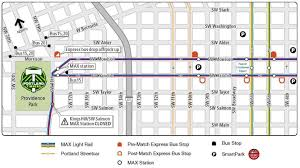 Portland Bus Map by Portland Timbers Look To Get Back On Top In 2015 And Trimet Will