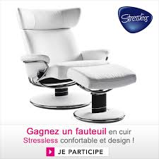 fauteuil stresless gagnez un fauteuil en cuir stressless jeux concours déco