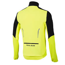 hi vis cycling jacket men u0027s select thermal barrier jacket pearl izumi cycling gear