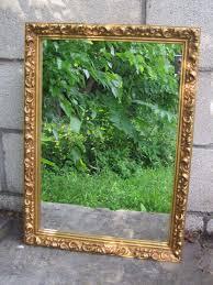bathroom medicine cabinet vintage mirror framed ornate victorian
