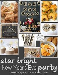 New Year S Eve Dinner Ideas Star Bright New Year U0027s Eve Party Ideas Unique Pastiche Events