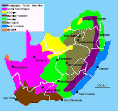 africa map climate zones south africa climate geography