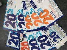 Coupons Bed Bath And Beyond Bed Bath And Beyond Gift Cards U0026 Coupons Ebay