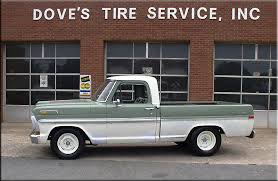 tire size for ford ranger 1970 f100 tires ford truck enthusiasts forums