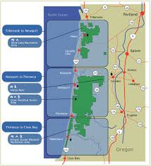 map of oregon dunes national recreation area siuslaw national forest recreation