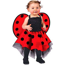 amazon com ladybug costume baby one size fits up to 24 months baby