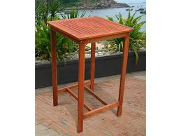 Zuo Christabel Folding Bar Table Outdoor Bar Tables Patioliving