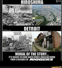 Detroit Meme - hiroshima vs detroit offensivememes
