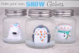 diy snow globes for