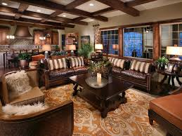Leather Livingroom Furniture Floor Planning A Small Living Room Hgtv