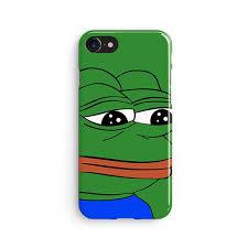 Green Man Meme - pepe sad frog feels bad man meme iphone x case iphone 8