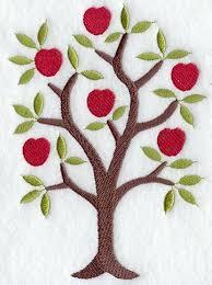 4 99 apple tree embroidery pattern stitchin pics patterns