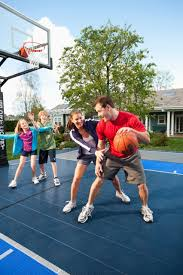 cultivating activity and bonding with a family sports night