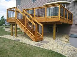 wood deck railing ideas u2014 jbeedesigns outdoor deck railing ideas