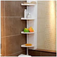 Corner Bathroom Shelving Wondrous Design Ideas Corner Bathroom Shelves Charming Shelving