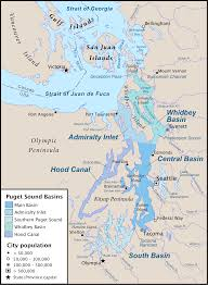 Map Of The United States With Landforms by Puget Sound A Uniquely Diverse And Productive Estuary