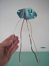 ceiling fan junction box installing a ceiling fan hunter 44 inch with light kit