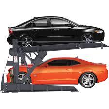 Low Ceiling 2 Post Lift by Bendpak 2 Post Tilt Platform Car Stacker Parking Lift U2014 6000 Lb
