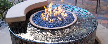 Firepit Glass Glass
