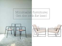 minimalist furniture design minimalist skinny furniture get the designer look for less